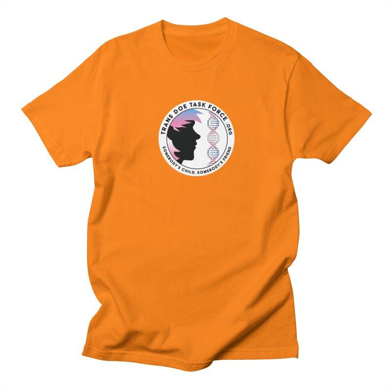 Trans Doe Task Force emblem Men's Regular T-Shirt by Trans Doe Task Force