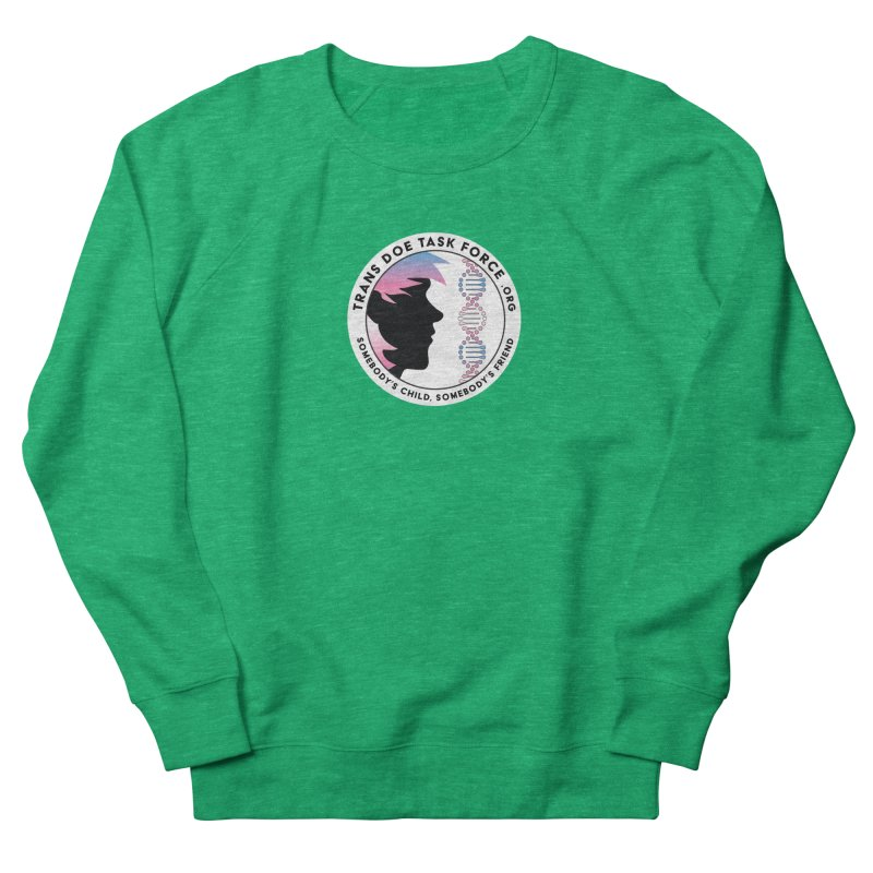 Trans Doe Task Force emblem Women's Sweatshirt by Trans Doe Task Force