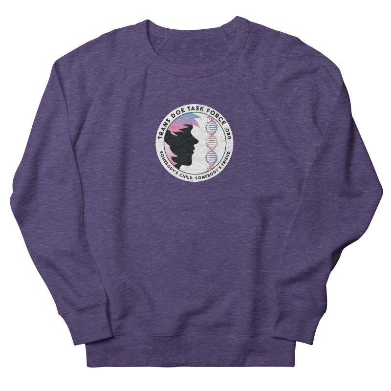 Trans Doe Task Force emblem Men's Sweatshirt by Trans Doe Task Force