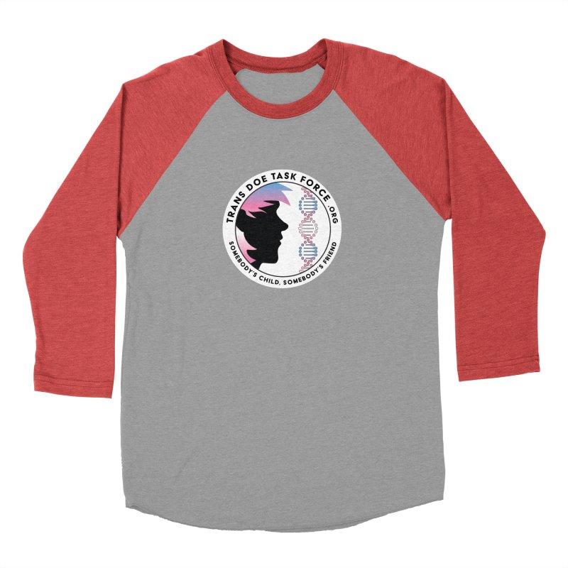 Trans Doe Task Force emblem Women's Baseball Triblend Longsleeve T-Shirt by Trans Doe Task Force