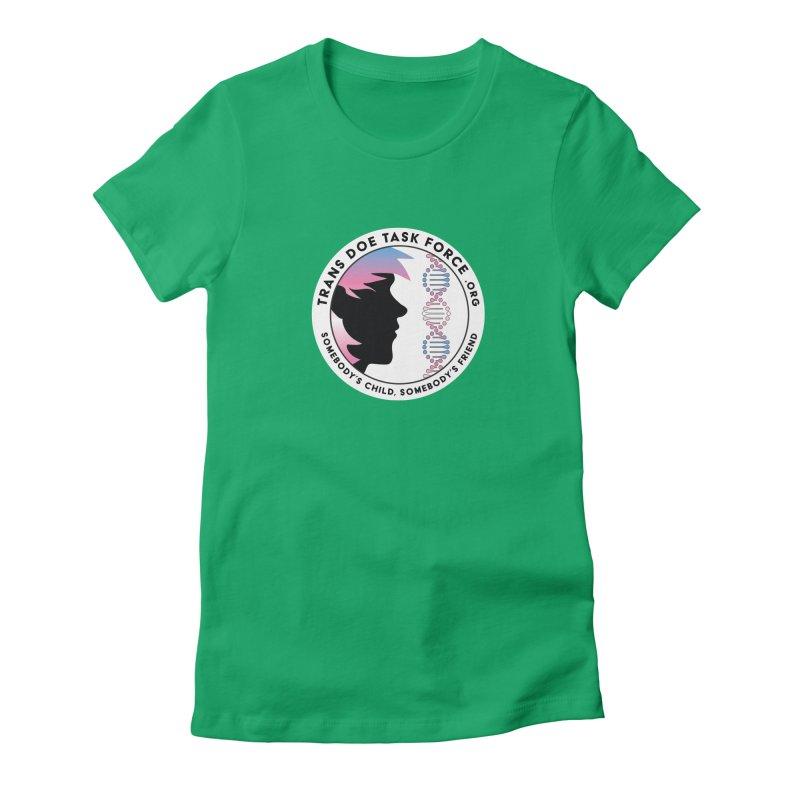Trans Doe Task Force emblem Women's T-Shirt by Trans Doe Task Force