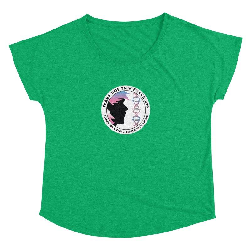 Trans Doe Task Force emblem Women's Dolman Scoop Neck by Trans Doe Task Force