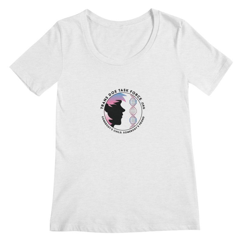 Trans Doe Task Force emblem Women's Regular Scoop Neck by Trans Doe Task Force