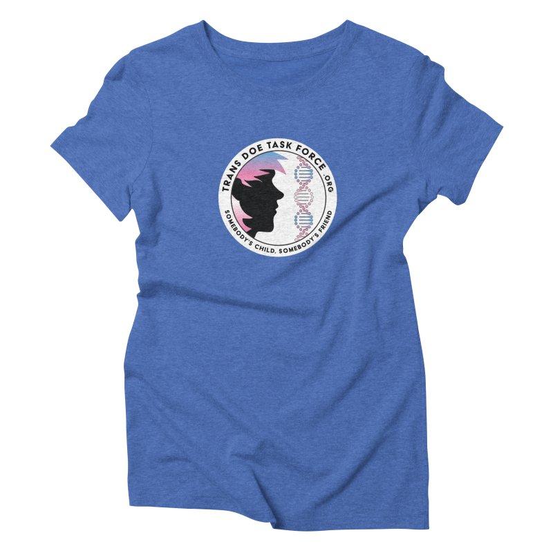 Trans Doe Task Force emblem Women's Triblend T-Shirt by Trans Doe Task Force