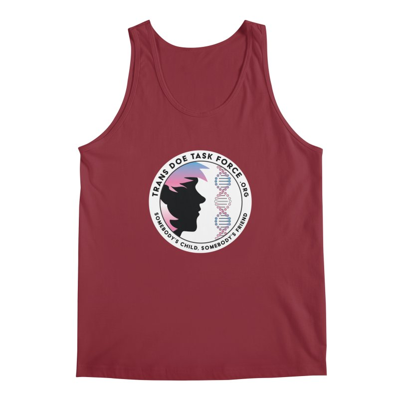 Trans Doe Task Force emblem Men's Regular Tank by Trans Doe Task Force