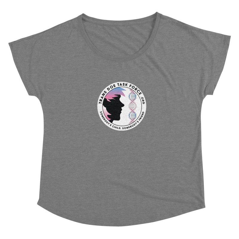 Trans Doe Task Force emblem Women's Scoop Neck by Trans Doe Task Force
