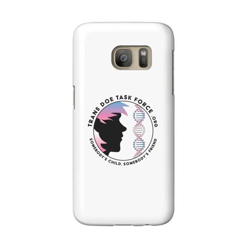 Trans Doe Task Force emblem Accessories Phone Case by Trans Doe Task Force