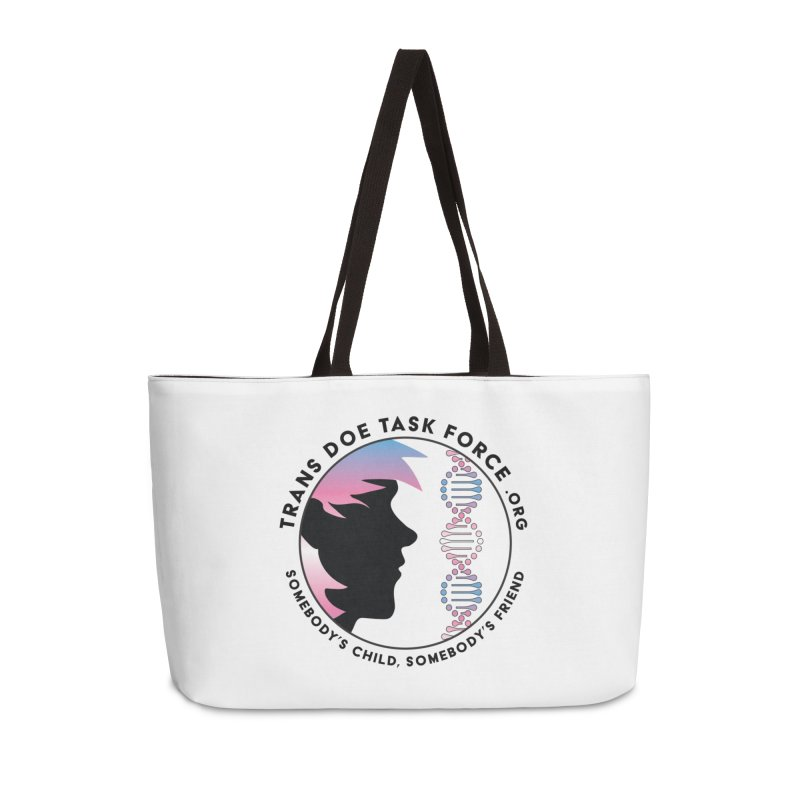 Trans Doe Task Force emblem Accessories Weekender Bag Bag by Trans Doe Task Force