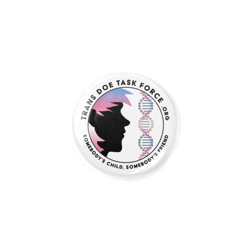 Trans Doe Task Force emblem Accessories Button by Trans Doe Task Force