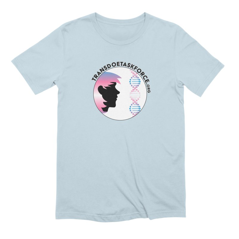 Trans Doe Task Force emblem Men's Extra Soft T-Shirt by Trans Doe Task Force