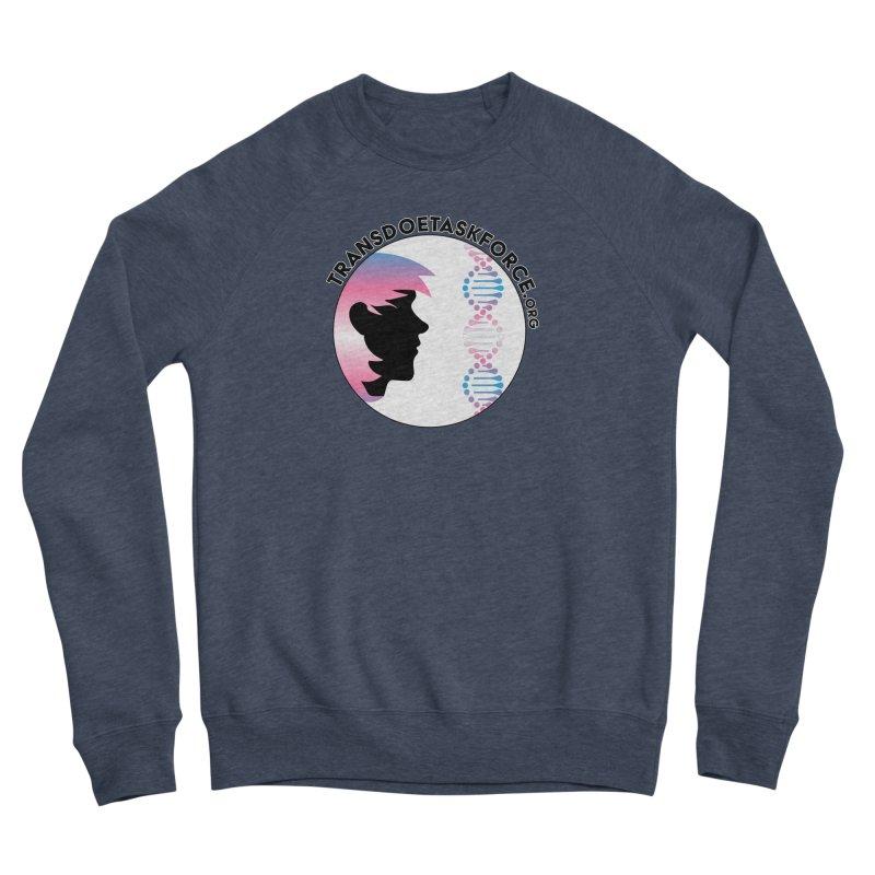 Trans Doe Task Force emblem Women's Sponge Fleece Sweatshirt by Trans Doe Task Force