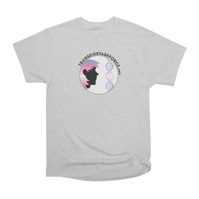 Trans Doe Task Force emblem Men's Heavyweight T-Shirt by Trans Doe Task Force