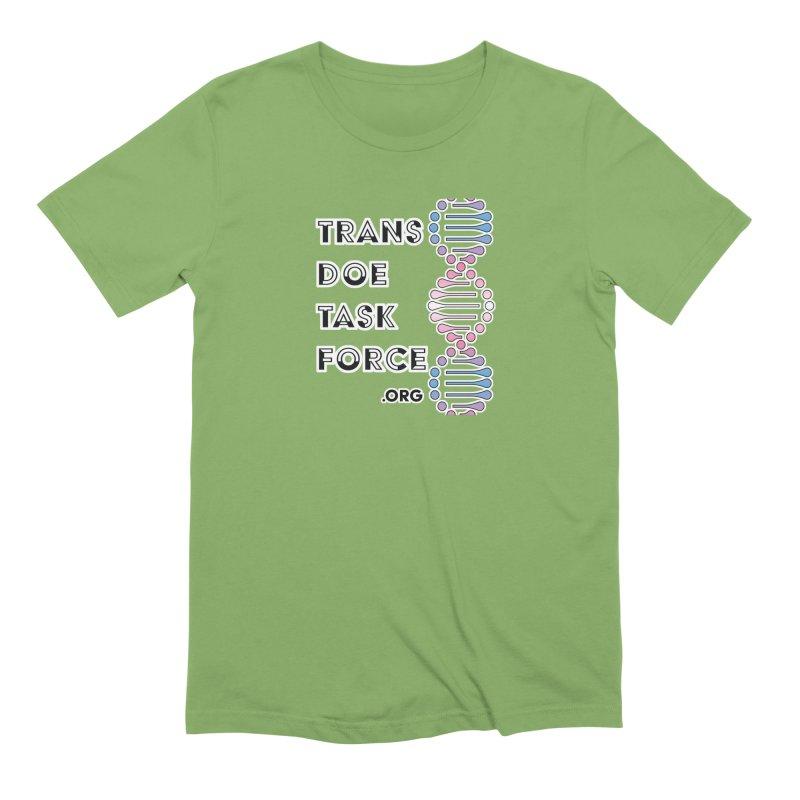 Trans Doe Task Force DNA Men's Extra Soft T-Shirt by Trans Doe Task Force