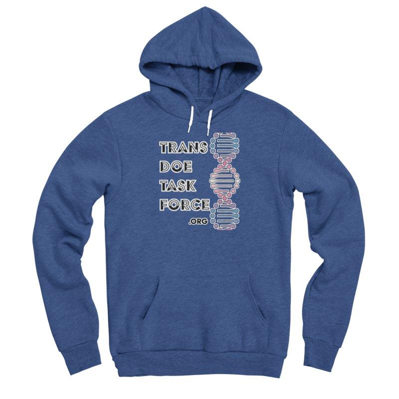 Trans Doe Task Force DNA Men's Sponge Fleece Pullover Hoody by Trans Doe Task Force