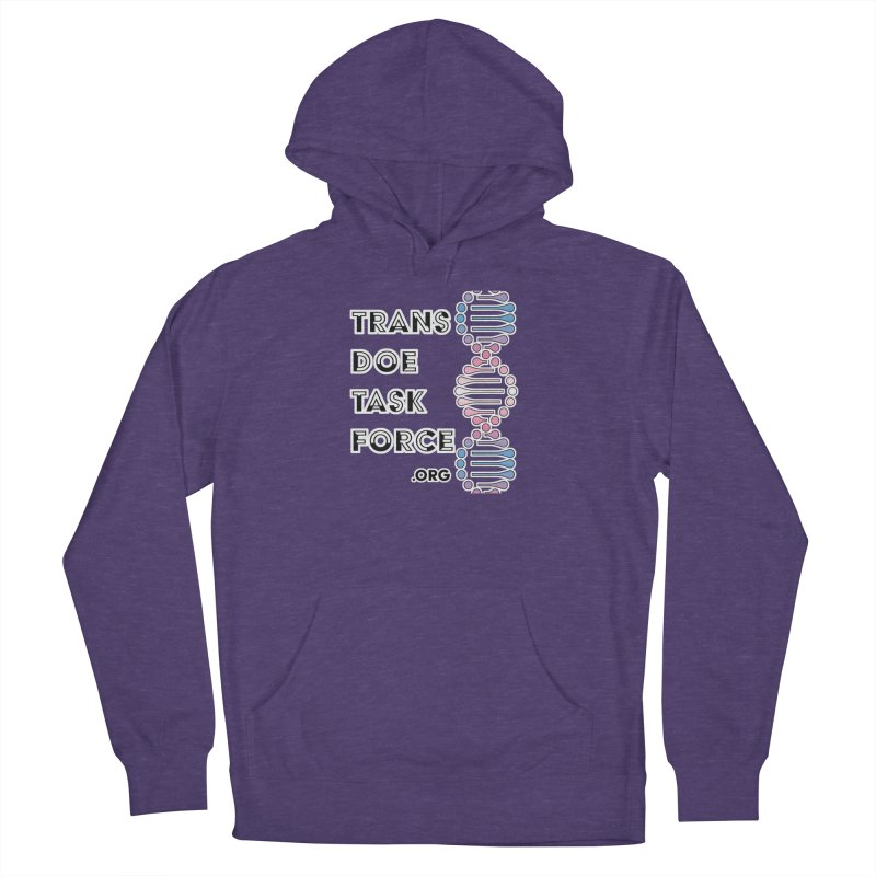 Trans Doe Task Force DNA Women's French Terry Pullover Hoody by Trans Doe Task Force