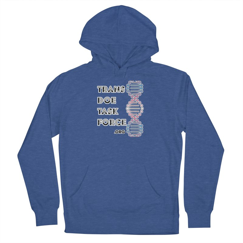 Trans Doe Task Force DNA Men's French Terry Pullover Hoody by Trans Doe Task Force