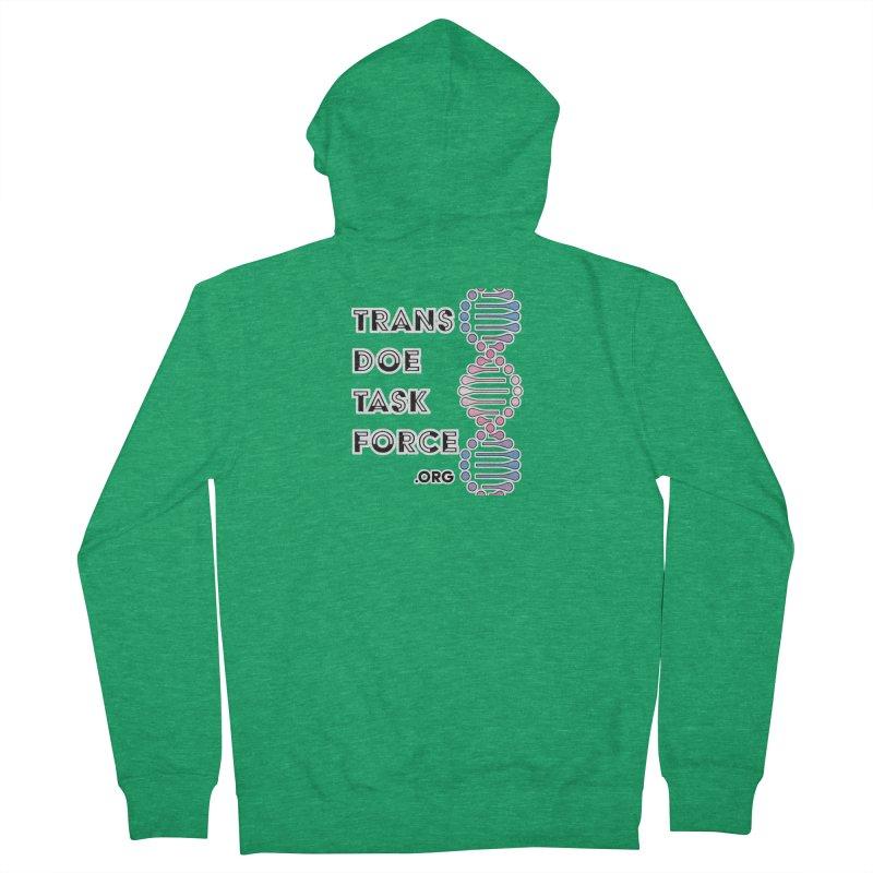 Trans Doe Task Force DNA Women's Zip-Up Hoody by Trans Doe Task Force