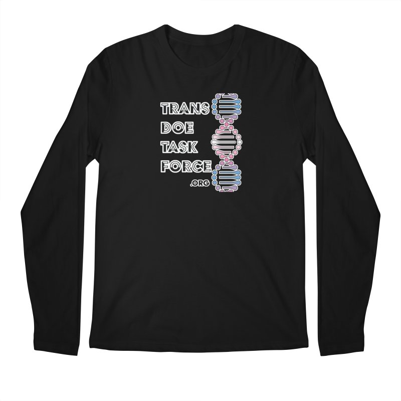 Trans Doe Task Force DNA Men's Regular Longsleeve T-Shirt by Trans Doe Task Force