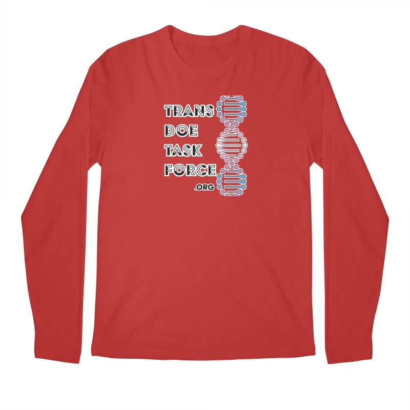 Trans Doe Task Force DNA Men's Regular Longsleeve T-Shirt by Trans Doe Task Force