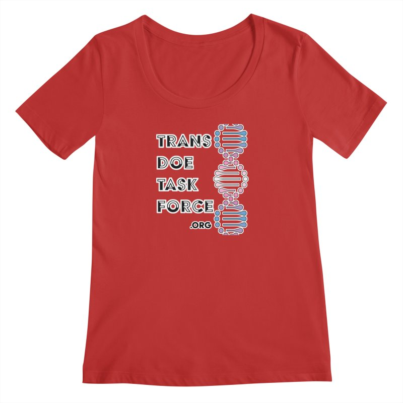 Trans Doe Task Force DNA Women's Regular Scoop Neck by Trans Doe Task Force