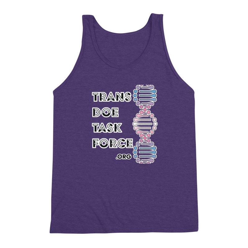 Trans Doe Task Force DNA Men's Triblend Tank by Trans Doe Task Force