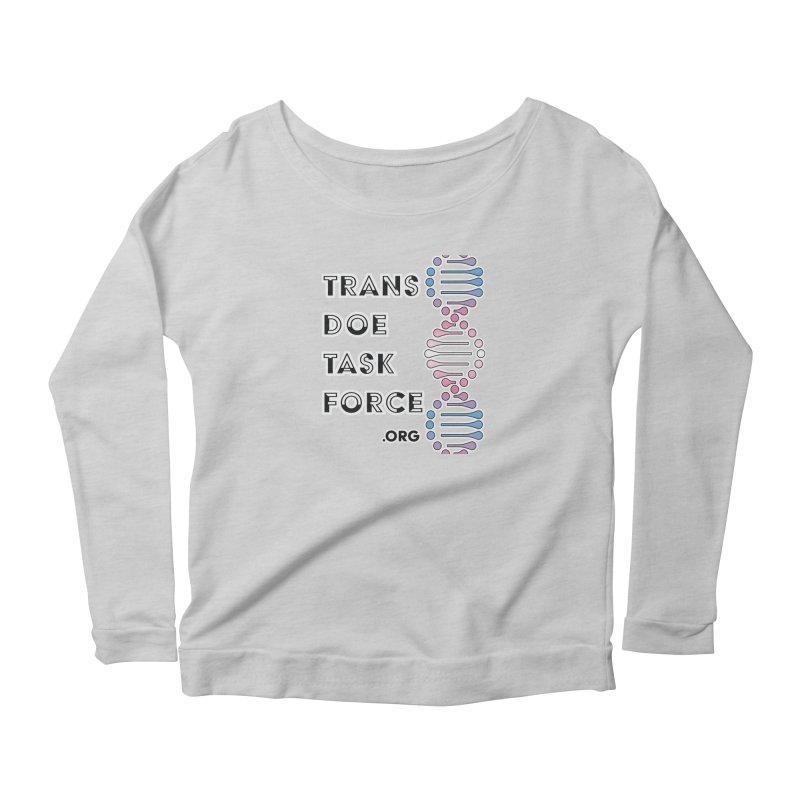 Trans Doe Task Force DNA Women's Scoop Neck Longsleeve T-Shirt by Trans Doe Task Force