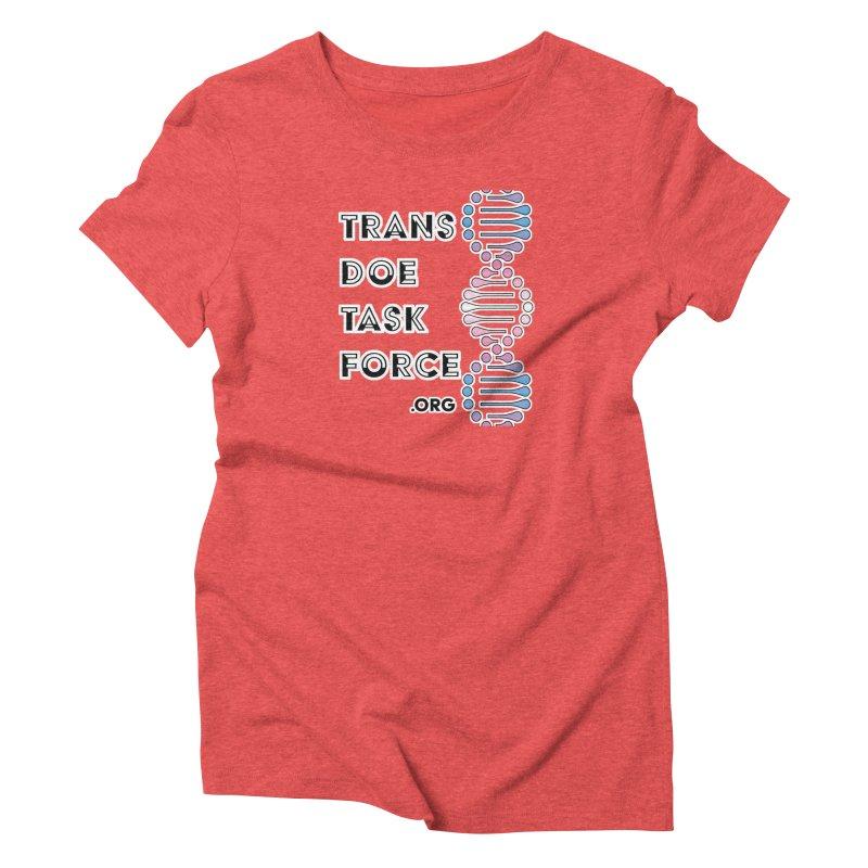Trans Doe Task Force DNA Women's Triblend T-Shirt by Trans Doe Task Force