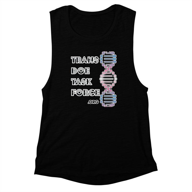 Trans Doe Task Force DNA Women's Muscle Tank by Trans Doe Task Force