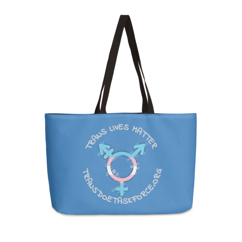Trans Lives Matter Accessories Bag by Trans Doe Task Force