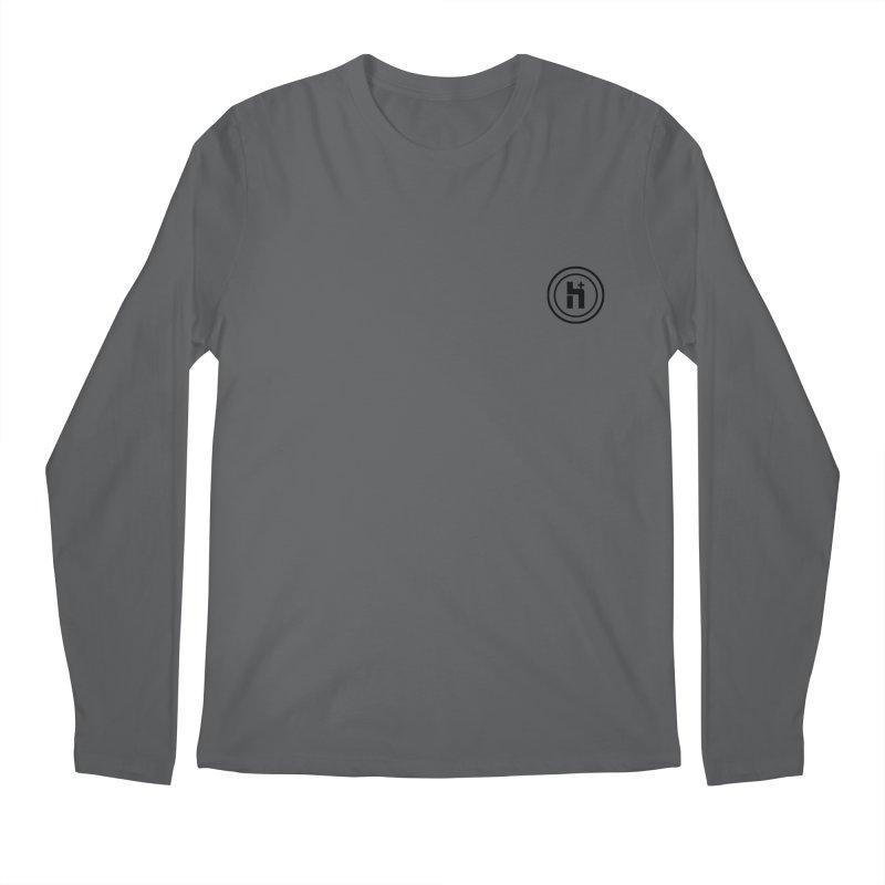 HPlus Small Men's Longsleeve T-Shirt by Transhuman Shop