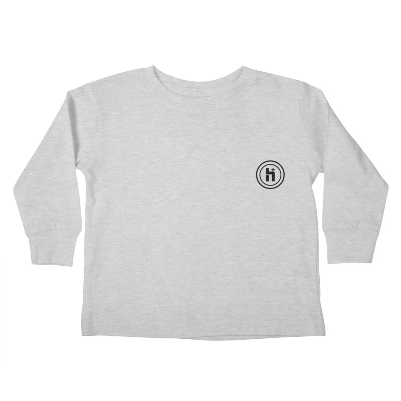 HPlus Small Kids Toddler Longsleeve T-Shirt by Transhuman Shop
