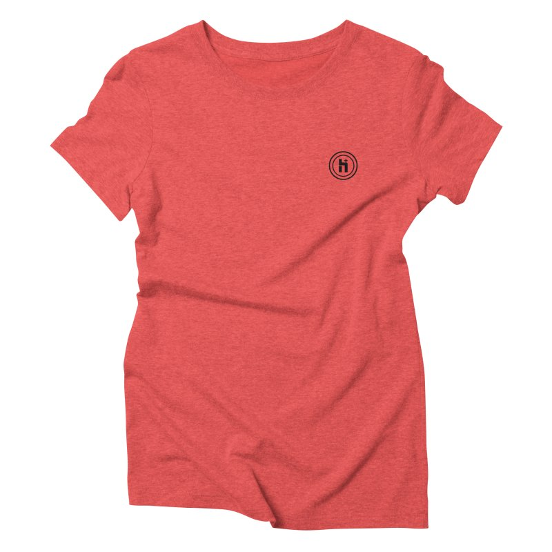 HPlus Small Women's Triblend T-Shirt by Transhuman Shop