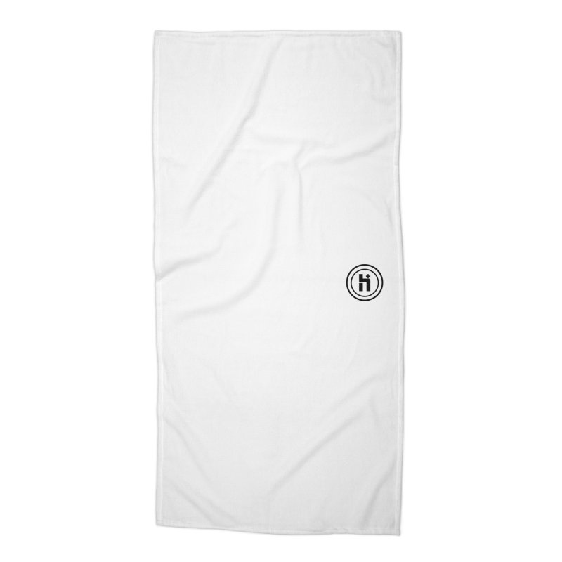 HPlus Small Accessories Beach Towel by Transhuman Shop