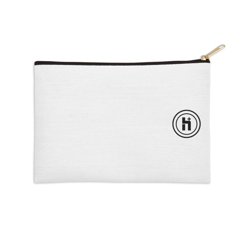 HPlus Small Accessories Zip Pouch by Transhuman Shop