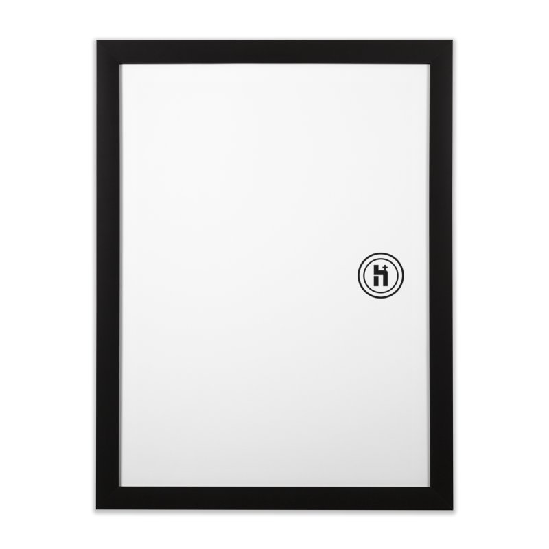 HPlus Small Home Framed Fine Art Print by Transhuman Shop