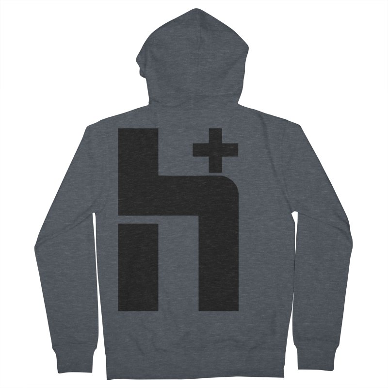 HPlus Men's Zip-Up Hoody by Transhuman Shop