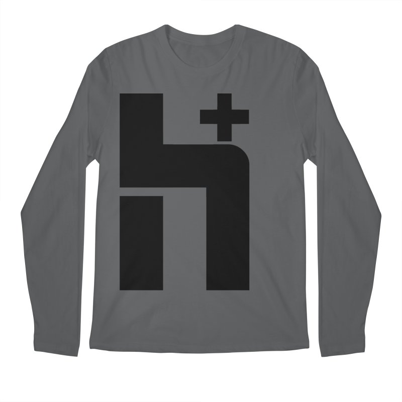 HPlus Men's Longsleeve T-Shirt by Transhuman Shop
