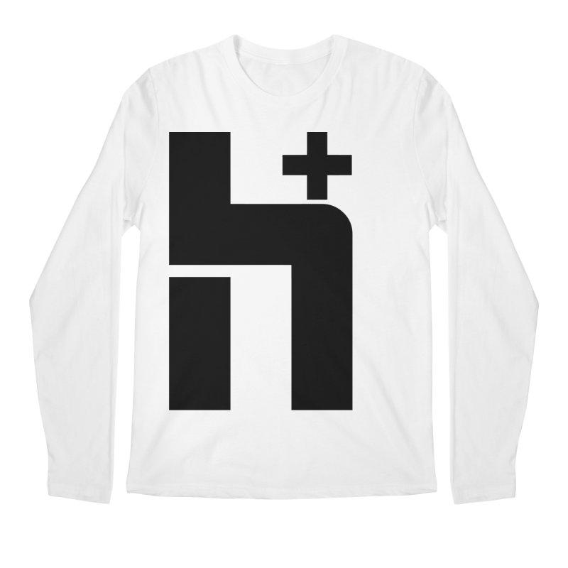 HPlus Men's Longsleeve T-Shirt by Transhuman Shop