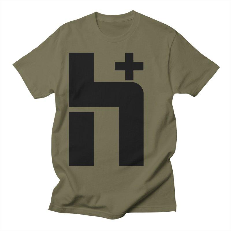 HPlus Men's T-shirt by Transhuman Shop