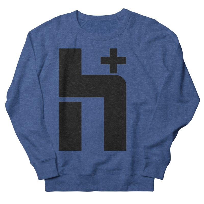 HPlus Men's Sweatshirt by Transhuman Shop