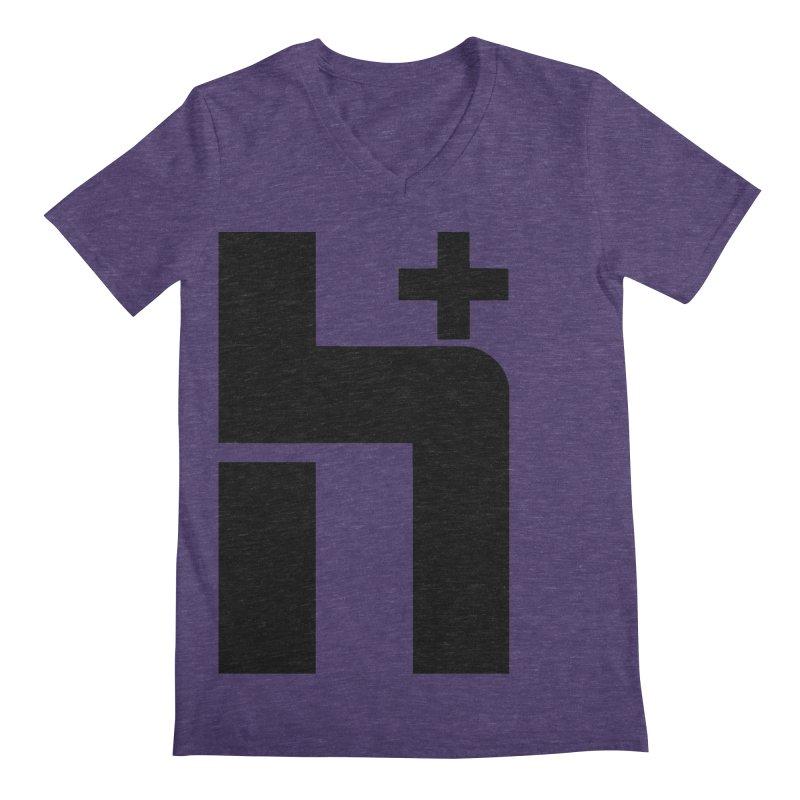 HPlus Men's V-Neck by Transhuman Shop