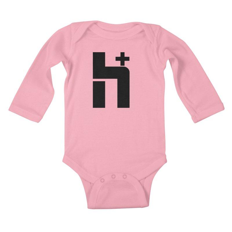 HPlus Kids Baby Longsleeve Bodysuit by Transhuman Shop