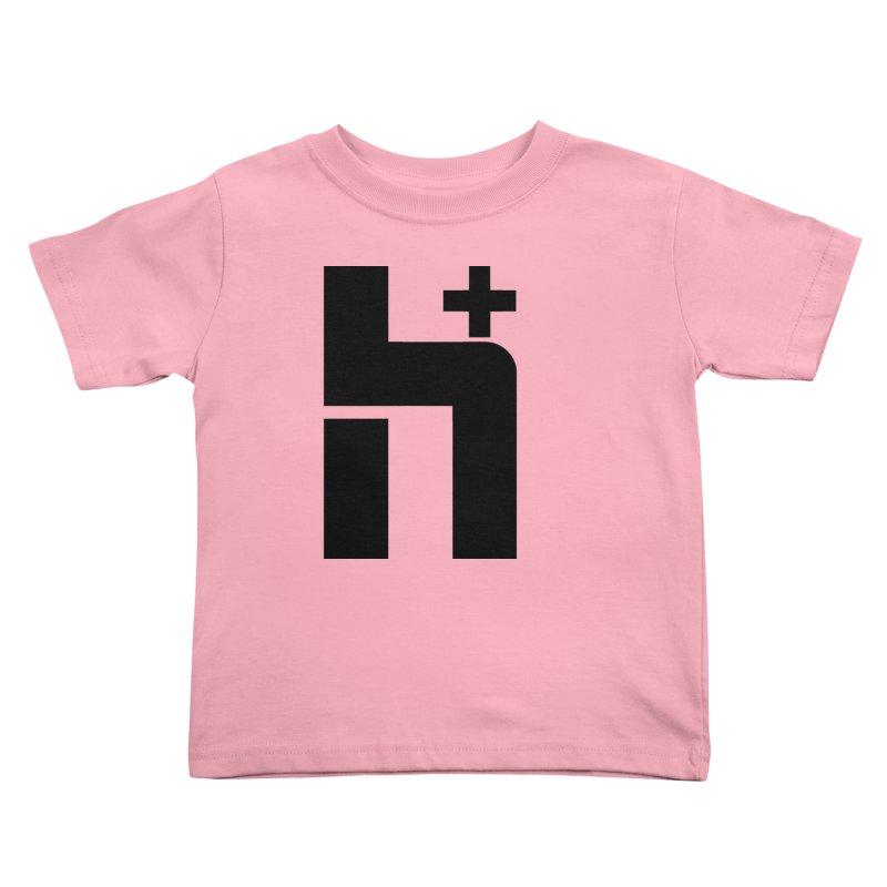 HPlus Kids Toddler T-Shirt by Transhuman Shop