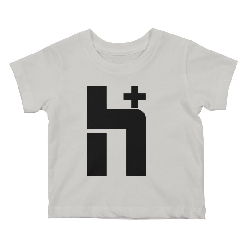 HPlus Kids Baby T-Shirt by Transhuman Shop