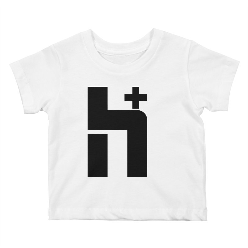 HPlus Kids Baby T-Shirt by Transhuman Shop