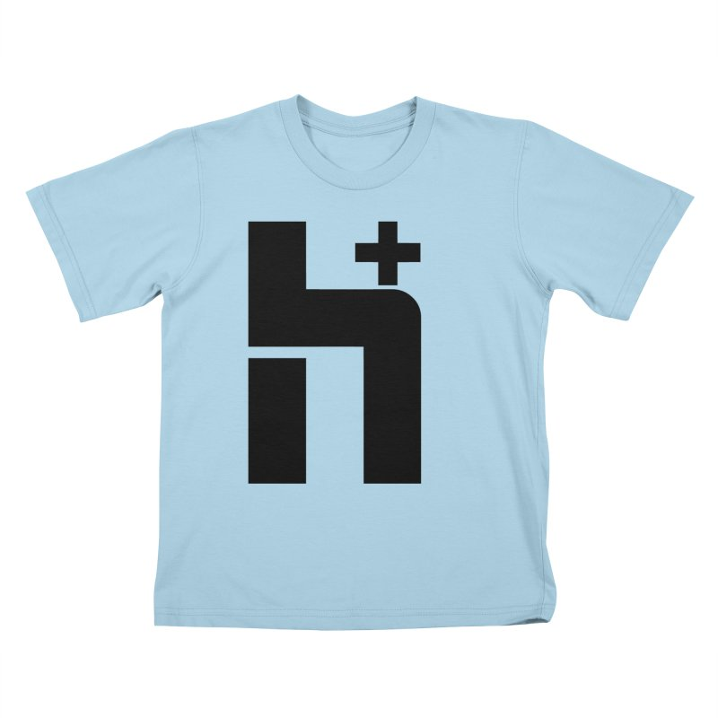 HPlus Kids T-Shirt by Transhuman Shop