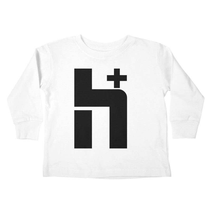 HPlus Kids Toddler Longsleeve T-Shirt by Transhuman Shop