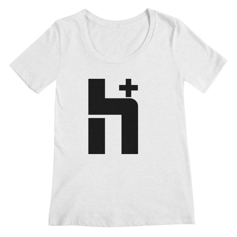 HPlus Women's Scoopneck by Transhuman Shop