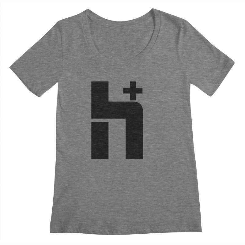 HPlus Women's Scoopneck by Transhuman Shop