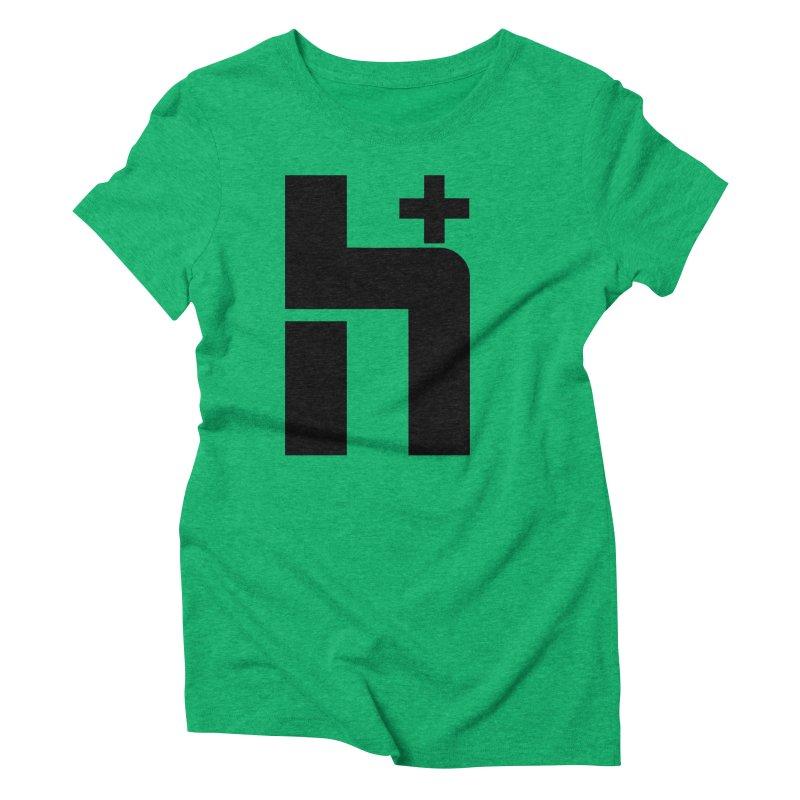 HPlus Women's Triblend T-Shirt by Transhuman Shop